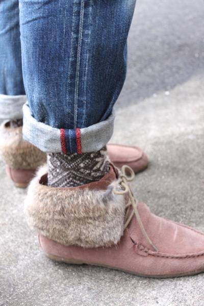 フレンチブル 靴下
