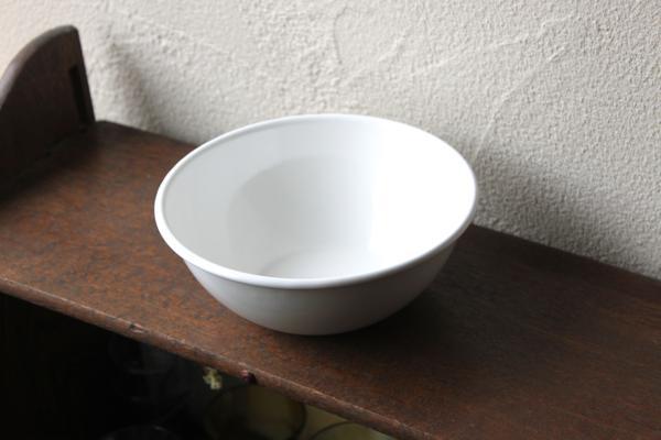 野田琺瑯 真っ白なボウル