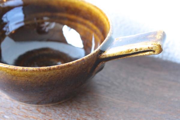 延興寺窯 片手碗