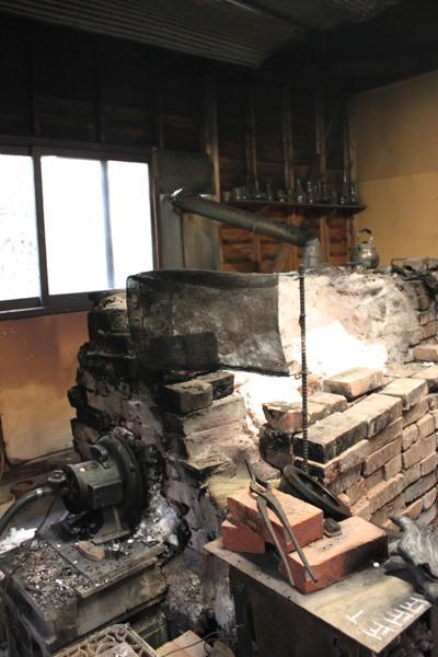 太田潤さんの工房