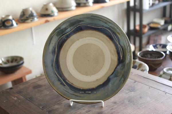 北窯 8寸皿