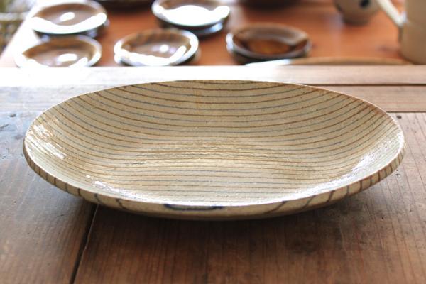 牧谷窯 楕円皿