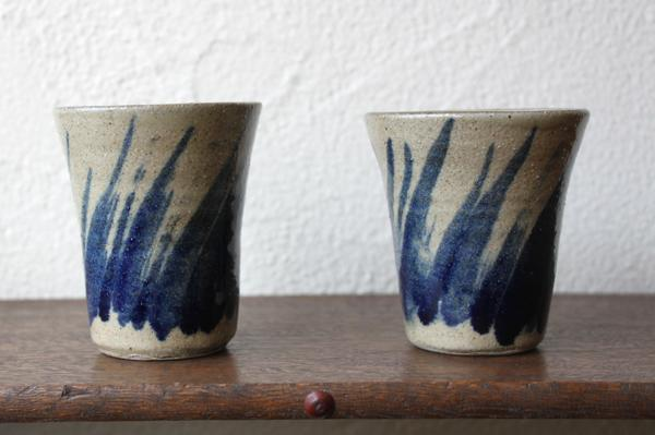 北窯 陶器のコップ