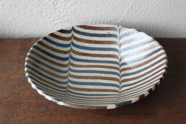 牧谷窯・杉本義訓 楕円鉢