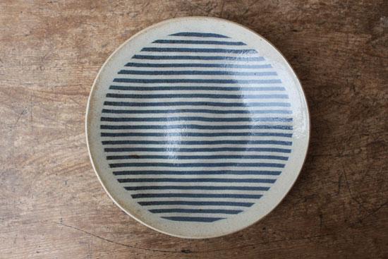 牧谷窯 杉本義訓 7.5寸皿