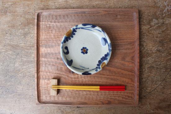 上江洲茂生 4.5寸皿