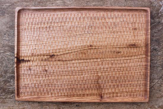 くるみの木のトレー