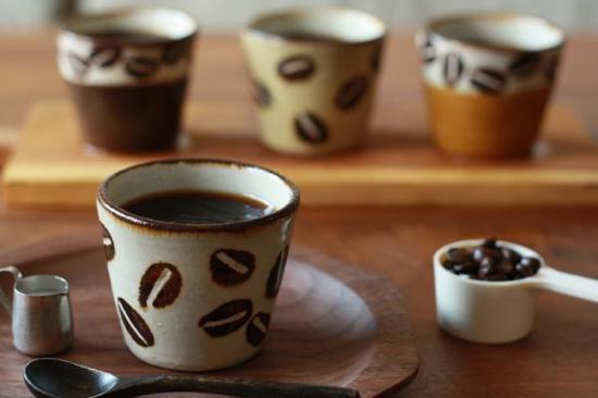 工房十鶴のフリーカップとコーヒーゼリー