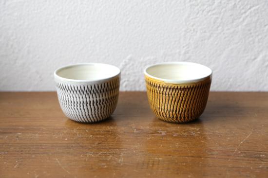 小鹿田焼のフリーカップ