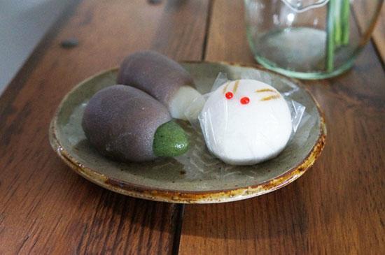 Sさまの食卓 まゆみ窯の楕円皿