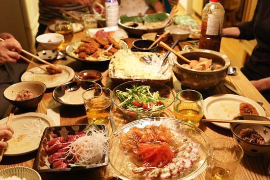 わが家の食卓