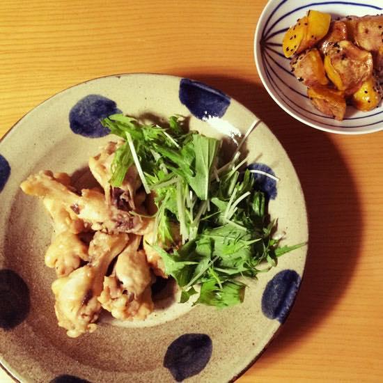 東京のMさまの食卓 北窯の8寸皿