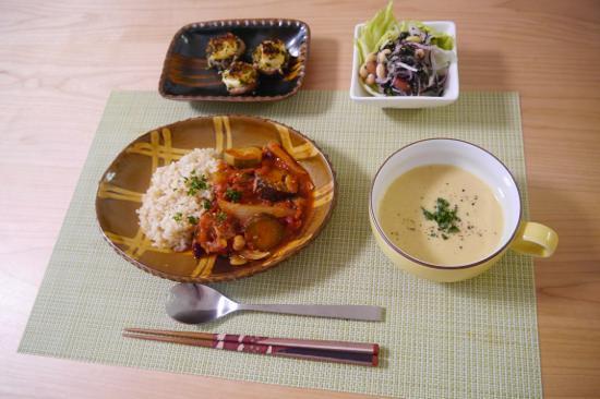 大阪のHさまの食卓 十場天伸スリップウェア