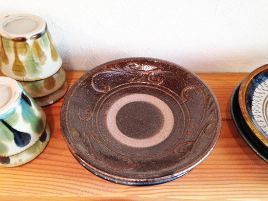 中ノ畑窯の7寸皿