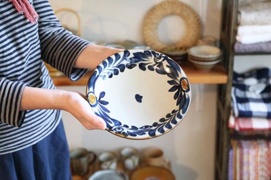 あき陶器工房 7寸皿