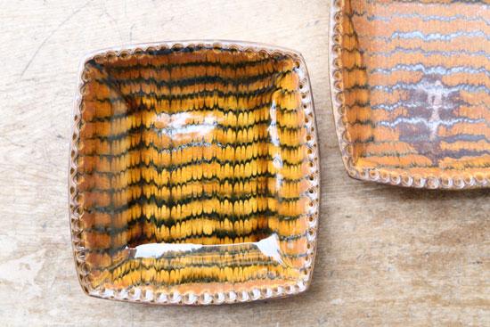 十場天伸 耐熱四角鉢