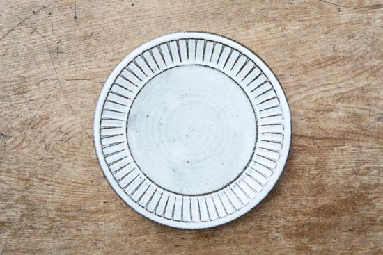 福田るい 7寸皿