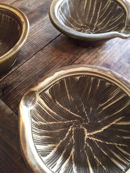 小鹿田焼 すり鉢