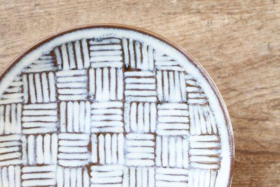 坂西康俊の7寸皿