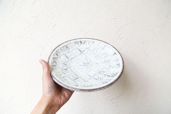 坂西康俊 8寸皿