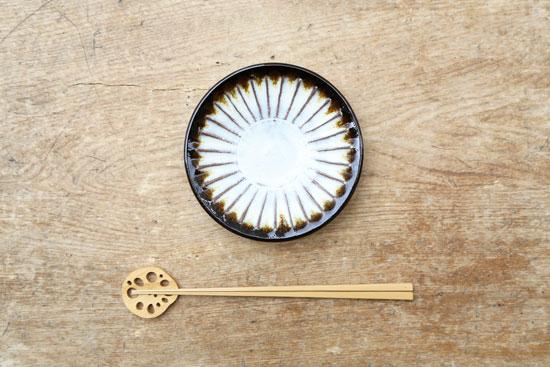 坂西康俊 4.5寸皿