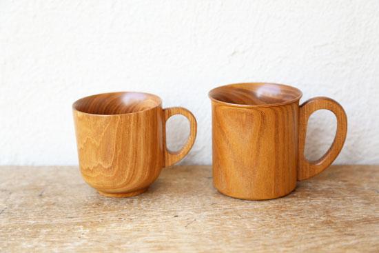 高橋工芸 エンジュのマグカップ
