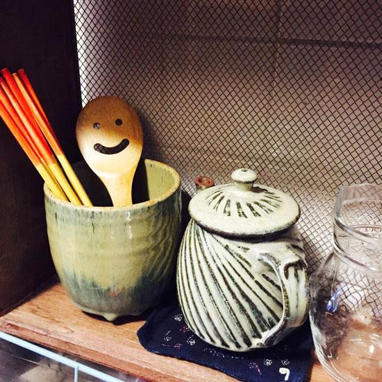 大阪のNさまの食器棚