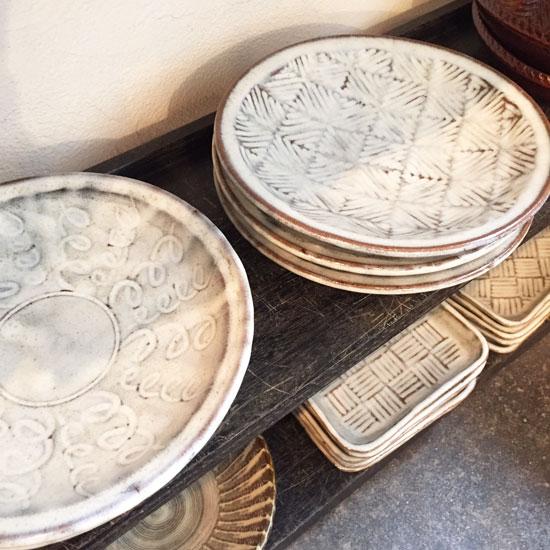 坂西康俊 7寸皿