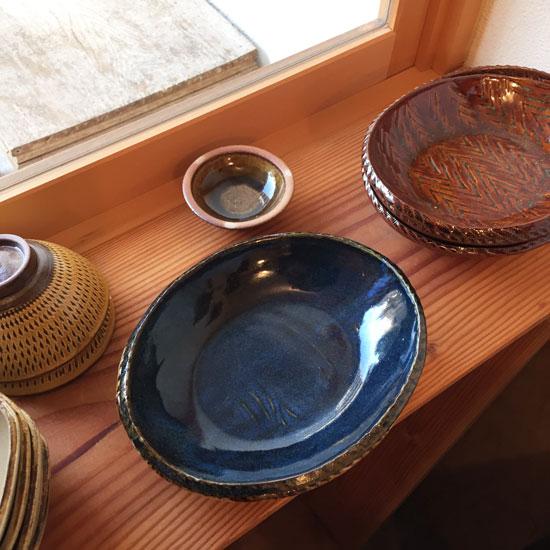 まゆみ窯 楕円鉢