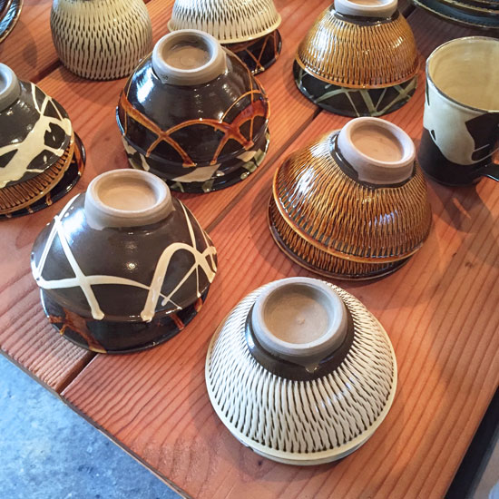 小鹿田焼 ご飯茶碗