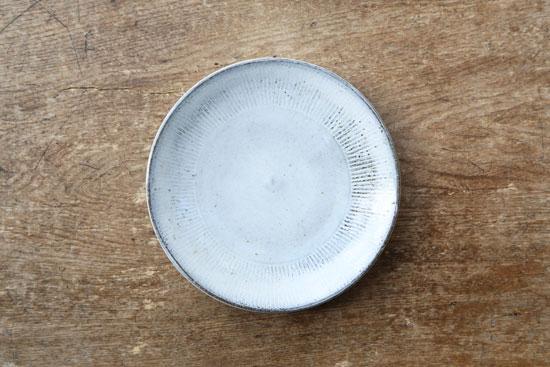 福田るい 6寸皿