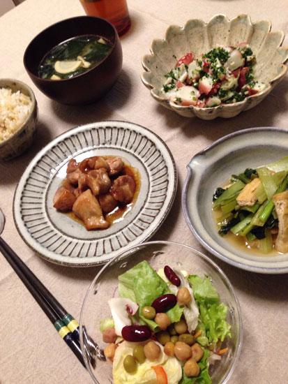 大阪のM様の食卓
