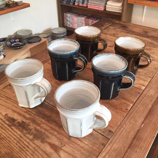 延興寺窯 マグカップ