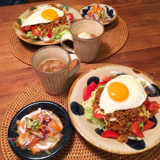兵庫県のO様の食卓