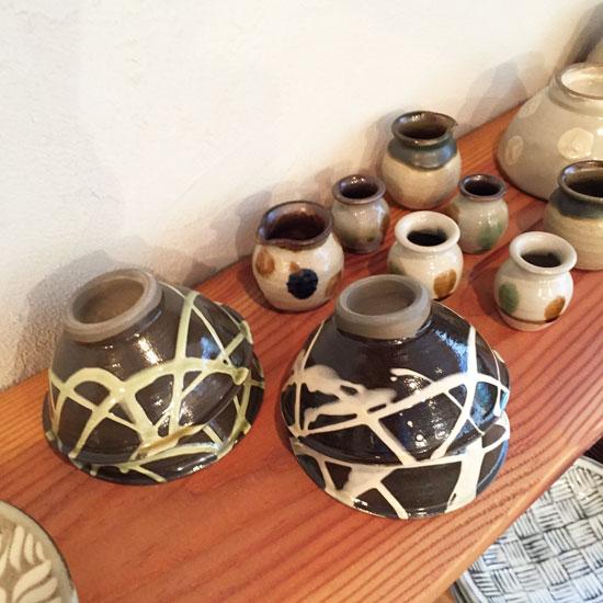小鹿田焼のご飯茶碗