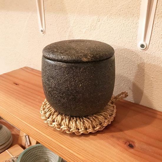 佐渡の鍋敷き